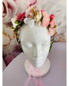 Čelenka z kvetov