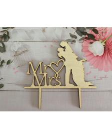 Drevený zápich MR,Mrs