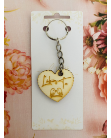 Kľúčenka - Ľúbim ťa tvar srdce