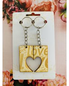 Kľúčenka pre páry - LOVE
