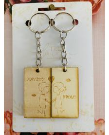 Kľúčenka pre páry - Navždy spolu