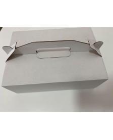 Zákusky a torty 270x190x95mm (T11) Biela