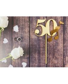 Drevený zápich – k 50 narodeninám