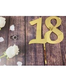 Plastový zápich k 18 narodeninám