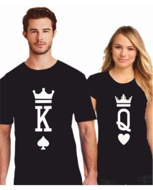 KING A QUEEN - BLACK