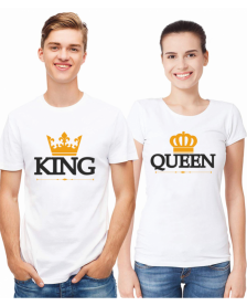 KING AND QUEEN - WHITE