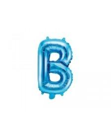 """Fóliový balón písmeno od """"A"""" po """"Z"""" 35 cm, modré"""