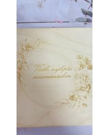 Otváracia krabička - všetko najlepšie Novomanželom