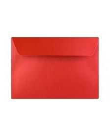 Svadobná obálka- metalická červená