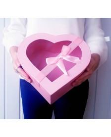 Krabička s príklopom- ružová