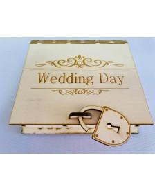 Wedding day - krabička
