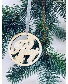 Vianočná guľa- Pokoj