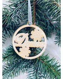 Vianočná guľa - Domov