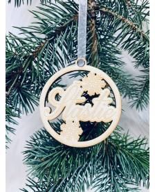 Vianočná guľa- Šťastie
