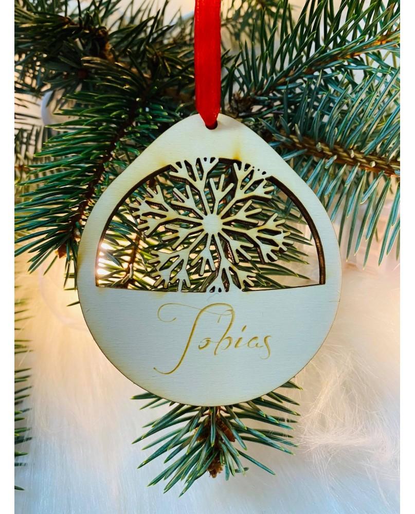 Vianočná guľa s menom
