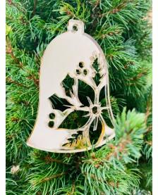 Vianočný zvonček zrkadlový