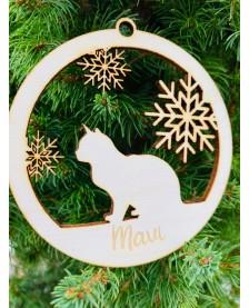 Vianočná guľa pre milovníkov mačiek
