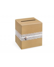 Krabica na telegramy, 24 x 24 x 24 cm
