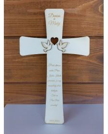Krížik drevený 1