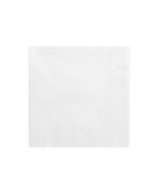Trojvrstvové servítky, biele, 33x33cm