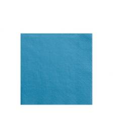 Trojvrstvové servítky, modré, 33x33cm
