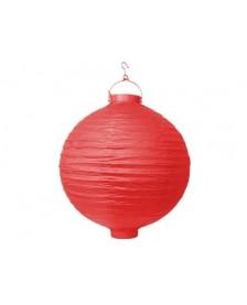 Papierová lampa, červená, 20 cm