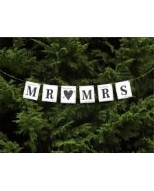 Banner MR MRS, 77 cm