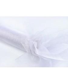 Glitrová Organdza, biela, 0,36 x 9 m