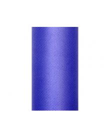 Hladký tyl, tmavomodry, 0,15 x 9 m