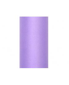 Hladký tyl, fialový, 0,15 x 9 m