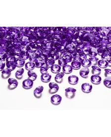 Kamienky - fialové , 12 mm