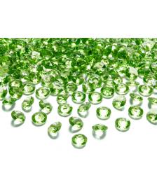 Kamienky - zelené, 12 mm