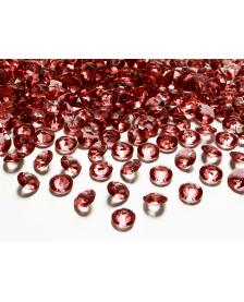 Kamienky - vínové, 12 mm