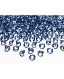 Kamienky - Modré, 12 mm